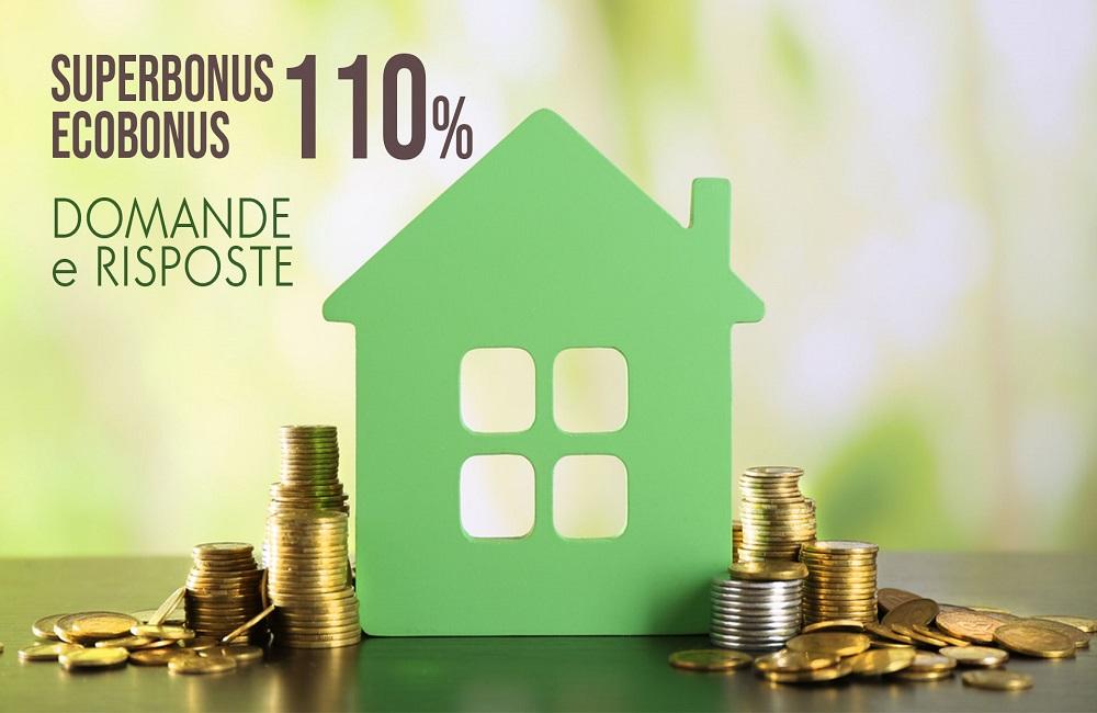 Ecobonus 110%: il Superbonus spiegato dal Fisco